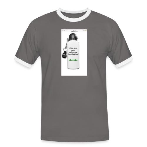 RocksAndSand adventure bottle - Men's Ringer Shirt
