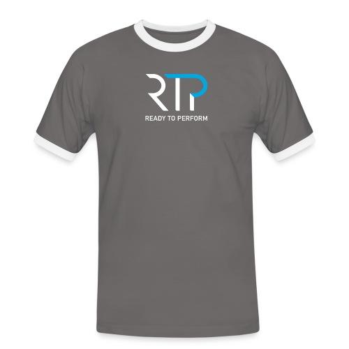 RTP byline white - Kontrast-T-shirt herr