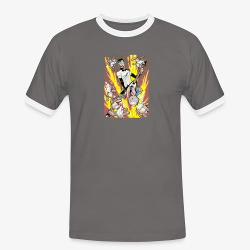 Leo Rock Bunny - Kontrast-T-skjorte for menn