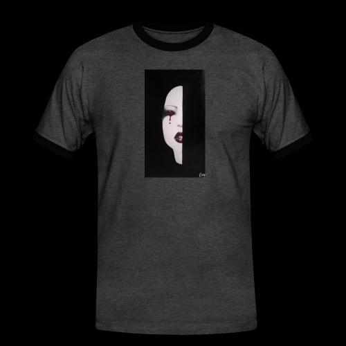 BlackWhitewoman - Maglietta Contrast da uomo