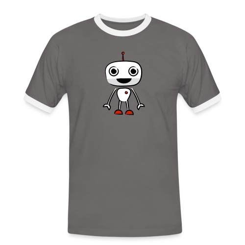 Robot Botman - Men's Ringer Shirt