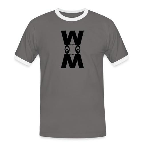 EYES DOWN WATCH MATCH STYLE - Maglietta Contrast da uomo