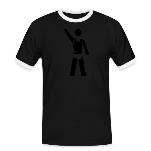 icon - Männer Kontrast-T-Shirt