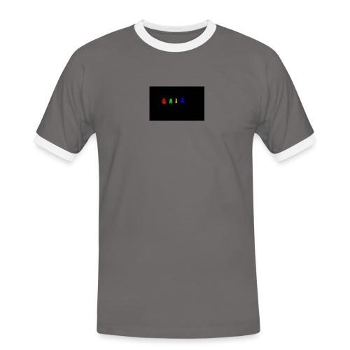 Gaiz - Maglietta Contrast da uomo