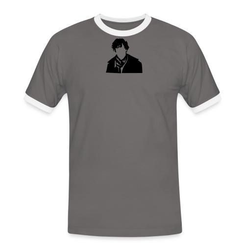 Sherlock Holmes - Männer Kontrast-T-Shirt