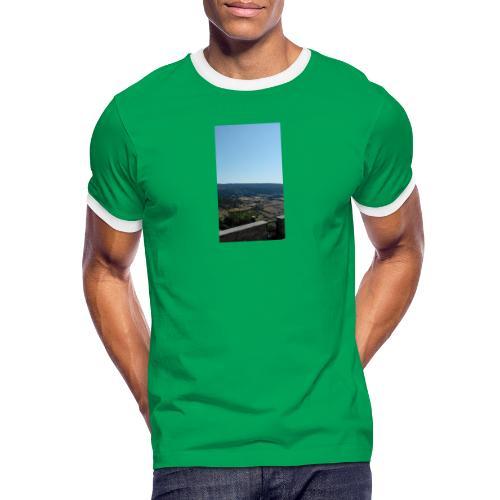 Panorama - Maglietta Contrast da uomo