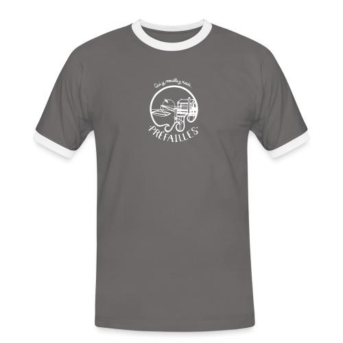 Les pêcheries de Prefailles - T-shirt contrasté Homme