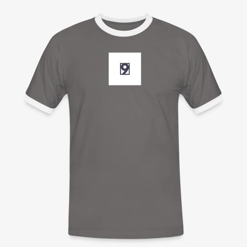 9 Clothing T SHIRT Logo - Men's Ringer Shirt
