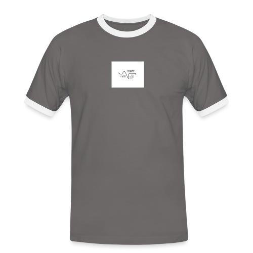 I_LOVE_DUBSTEP - Camiseta contraste hombre