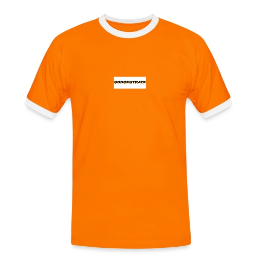 Concentrate on white - Men's Ringer Shirt