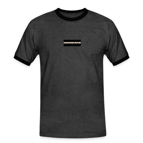 Concentrate on black - Men's Ringer Shirt