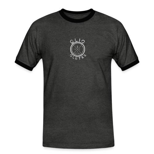 Compass by OliC Clothess (Light) - Herre kontrast-T-shirt