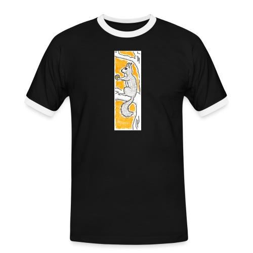 scoiattolo_alma_2015 - Maglietta Contrast da uomo