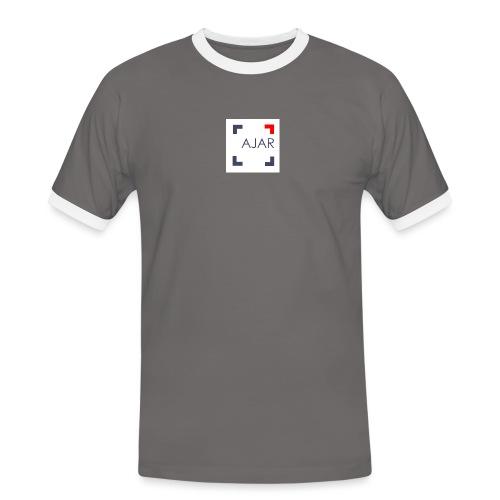 AJAR Logo - T-shirt contrasté Homme