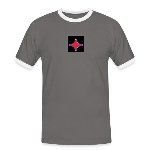 Infinite Lys - T-shirt contrasté Homme