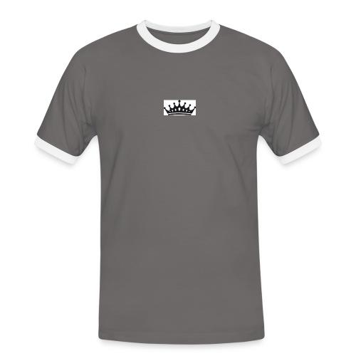 krone-2_einzeln - Mannen contrastshirt