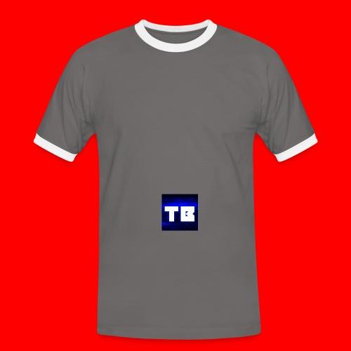 backgrounder 8 png - Men's Ringer Shirt