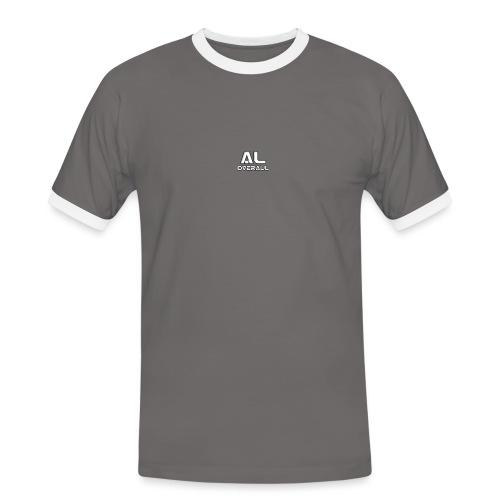 AL- Overall - Kontrast-T-skjorte for menn