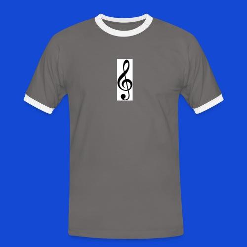 musical - Camiseta contraste hombre