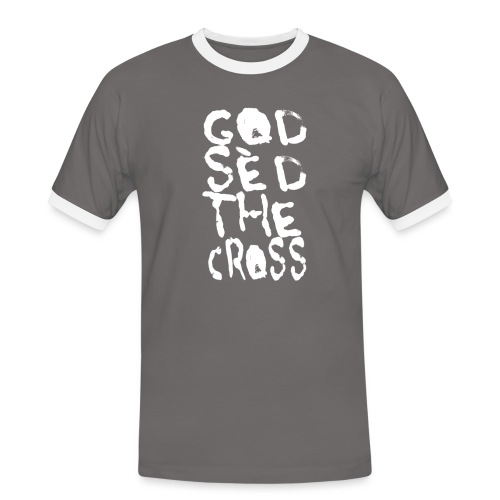 GodSèd The Cross - T-shirt contrasté Homme