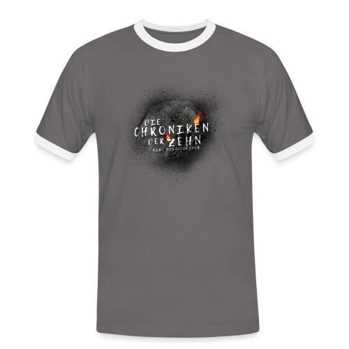 Die Chroniken der Zehn-Meteorit - Männer Kontrast-T-Shirt