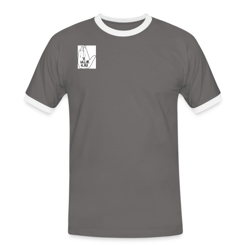 vigillarolikacrossedfingers1 - Kontrast-T-shirt herr