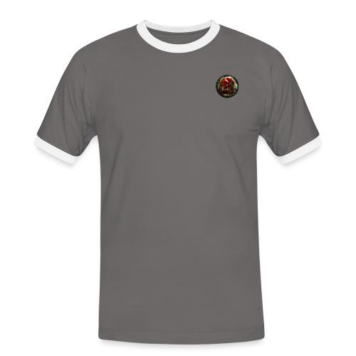 Untitled 1 png - Kontrast-T-skjorte for menn