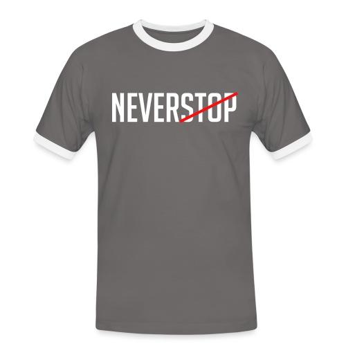 Neverstop - Mannen contrastshirt
