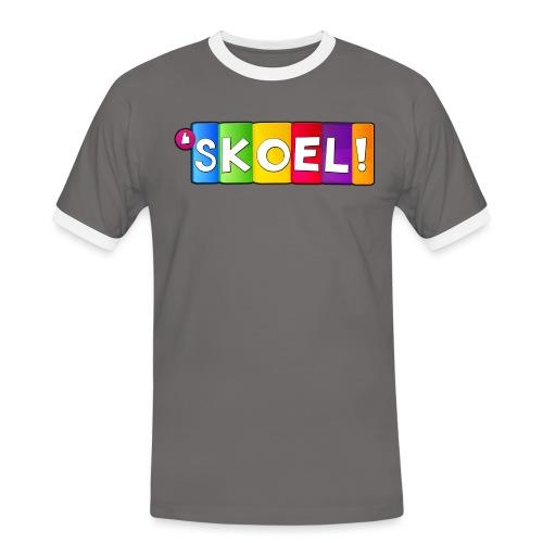 SKOEL merchandise - Mannen contrastshirt