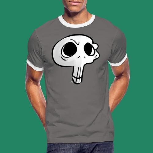 Skull - T-shirt contrasté Homme