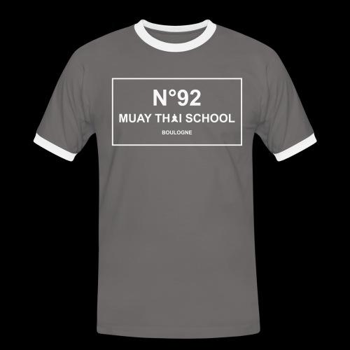 MTS92 N92 - T-shirt contrasté Homme