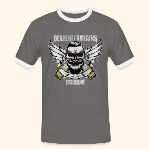 Bearded Villains Belgium - Men's Ringer Shirt