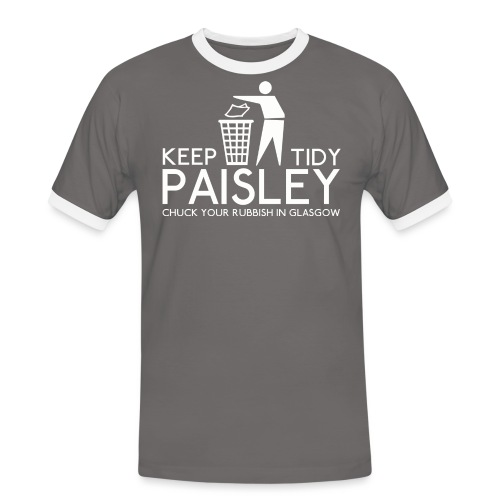 Keep Paisley Tidy - Men's Ringer Shirt