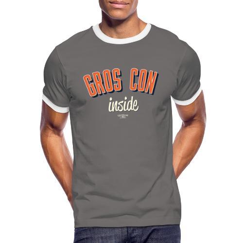 Gros con inside - T-shirt contrasté Homme