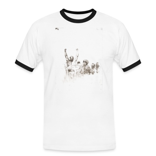 Jorge Forman - T-shirt contrasté Homme