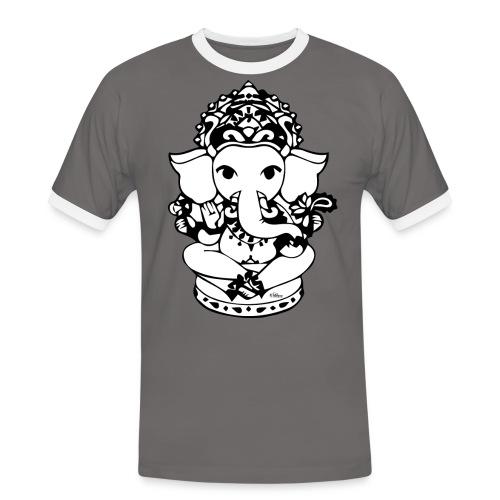 Wee Ganesh - Men's Ringer Shirt