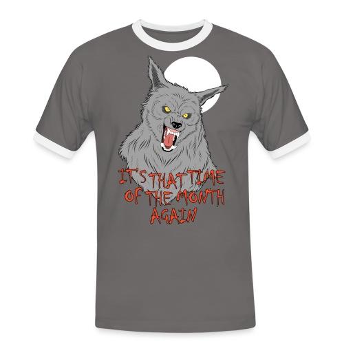 That Time of the Month - Koszulka męska z kontrastowymi wstawkami