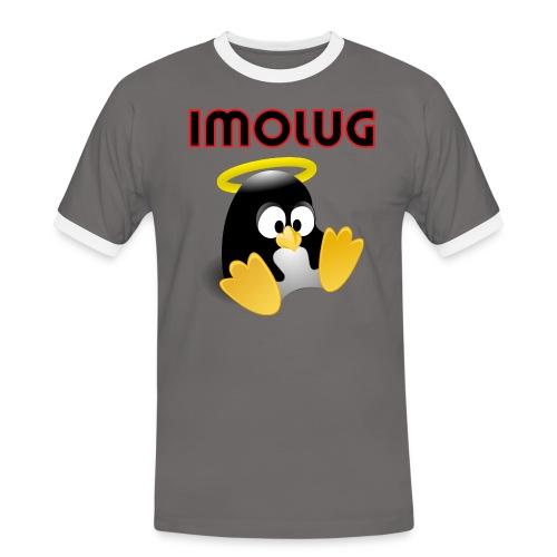 pinguino imolug - Maglietta Contrast da uomo