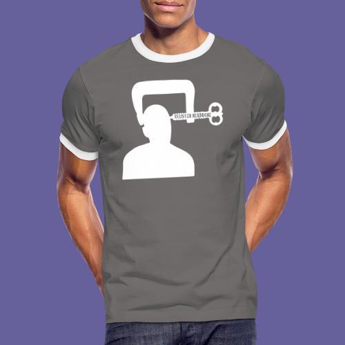 Cluster headache in een bankschroef - T-shirt contrasté Homme