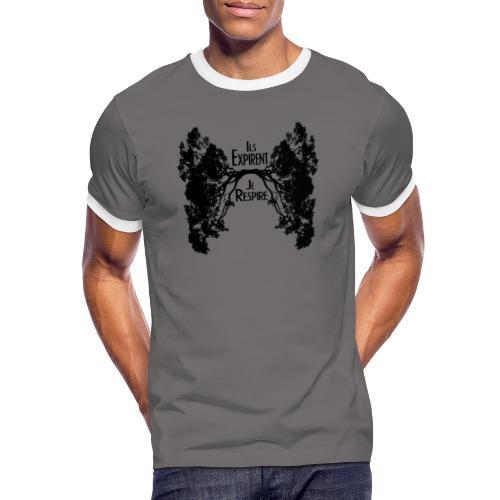 Oxygène - T-shirt contrasté Homme