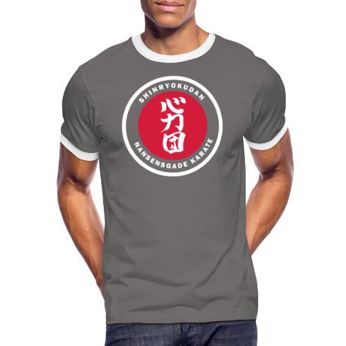 Herre/børne t-shirt mørk - Herre kontrast-T-shirt