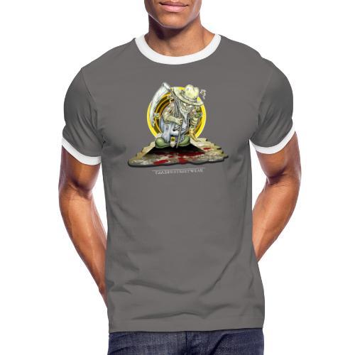 PsychopharmerKarl - Männer Kontrast-T-Shirt