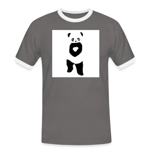 fffwfeewfefr jpg - Herre kontrast-T-shirt