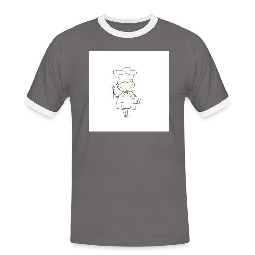 Maglietta 1 - Maglietta Contrast da uomo