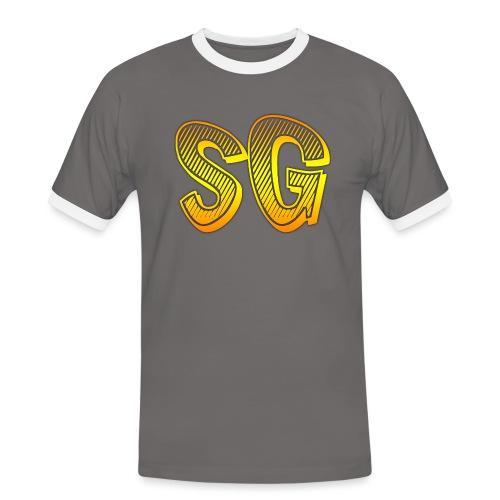 SG Donna - Maglietta Contrast da uomo