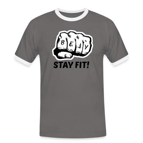 Sport tøj - Herre kontrast-T-shirt