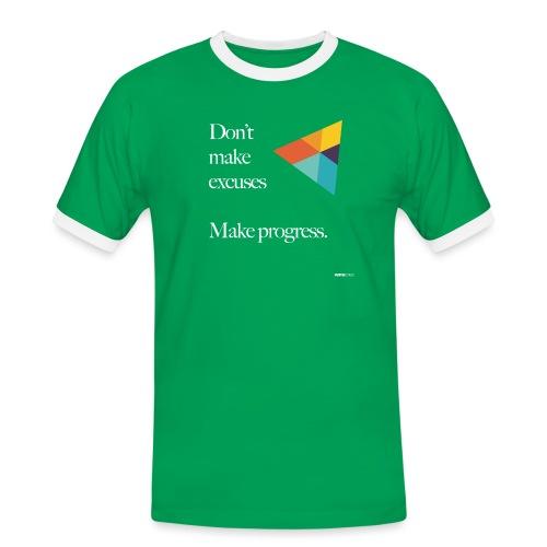 Dont Make Excuses T Shirt - Men's Ringer Shirt