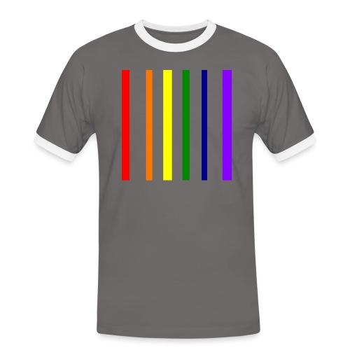 UNSCALABLE - Männer Kontrast-T-Shirt