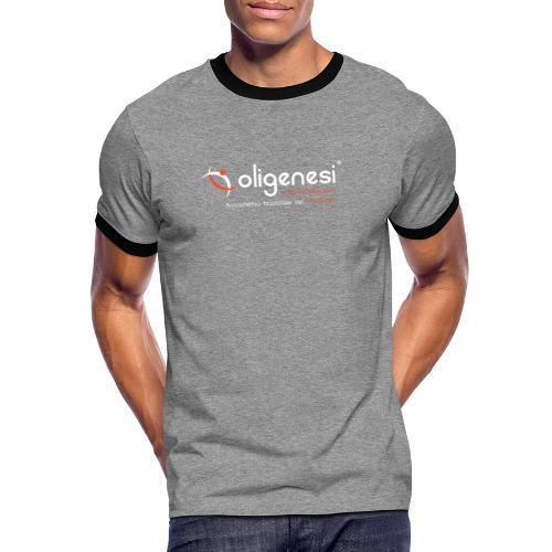 Oligenesi: Corsi di Massaggio - Maglietta Contrast da uomo