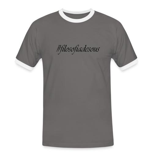 filosofiadesous1 - Camiseta contraste hombre